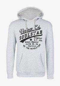 SOULSTAR - SOULSTAR  - Hættetrøjer - grau melange - 0