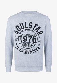 SOULSTAR - SOULSTAR  - Sweatshirts - grau melange - 0