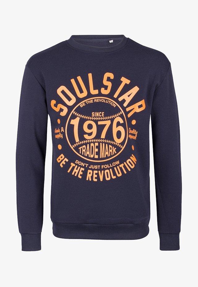 SOULSTAR  - Sweatshirts - marine