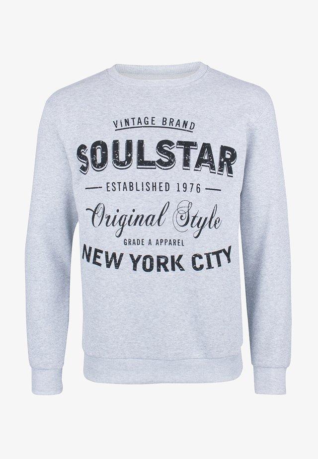 SOULSTAR  - Sweater - grau melange