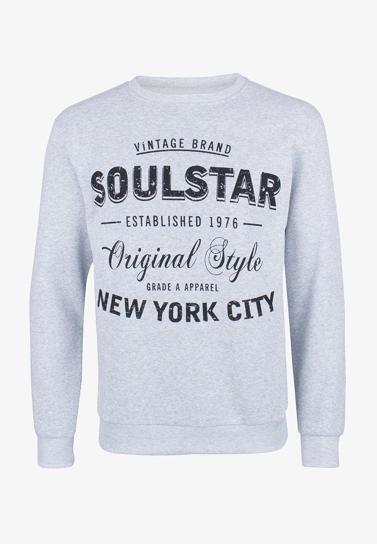 SOULSTAR - SOULSTAR  - Sweatshirts - grau melange