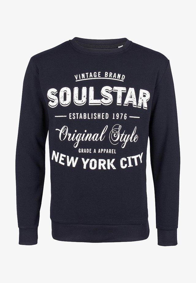 SOULSTAR  - Sweater - dunkelmarine