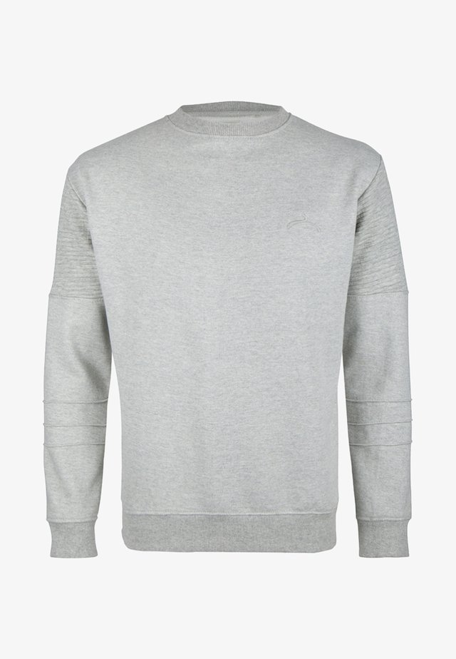 Sweater - mottled grey