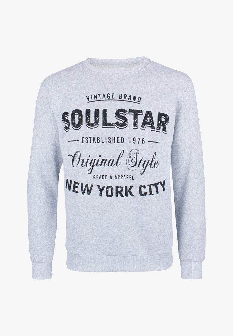 SOULSTAR - Sweatshirts - gray melange