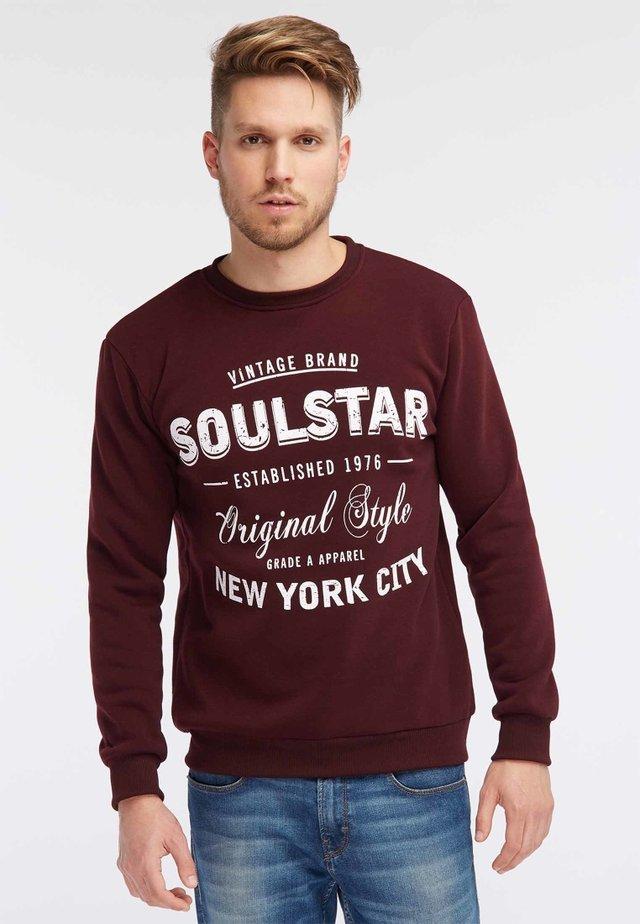 Sweatshirts - burgundy