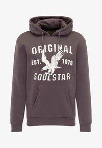 SOULSTAR - SOULSTAR  - Jersey con capucha - dark grey - 4