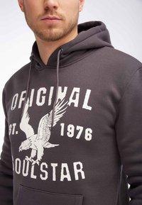 SOULSTAR - SOULSTAR  - Jersey con capucha - dark grey - 3