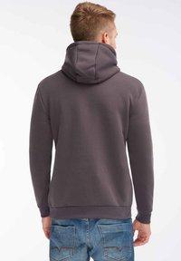 SOULSTAR - SOULSTAR  - Jersey con capucha - dark grey - 2