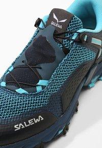Salewa - ULTRA TRAIN 2 - Trail running shoes - capri/poseidon - 5