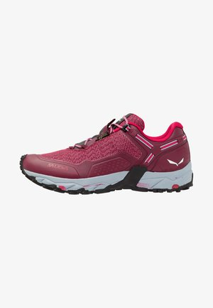 SPEED BEAT GTX - Hiking shoes - red plum/rose red