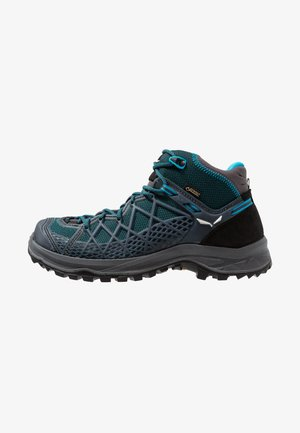 WILD HIKER MID GTX - Hiking shoes - french blue/black