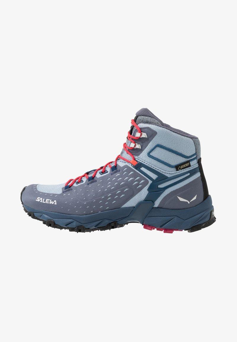 Salewa - ALPENROSE ULTRA MID GTX - Hiking shoes - grisaille/poseidon