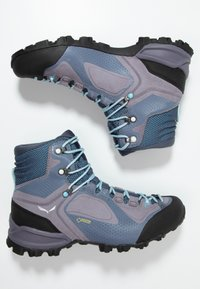 Salewa - ALPENVIOLET MID GTX - Hiking shoes - grisaille/ethernal blue - 1