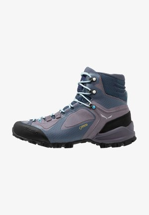ALPENVIOLET MID GTX - Obuwie hikingowe - grisaille/ethernal blue