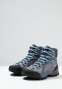 Salewa - ALPENVIOLET MID GTX - Hiking shoes - grisaille/ethernal blue - 2