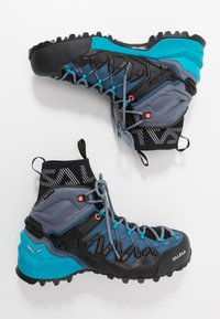 Salewa - WILDFIRE EDGE MID GTX - Hiking shoes - poseidon/grisaille - 1