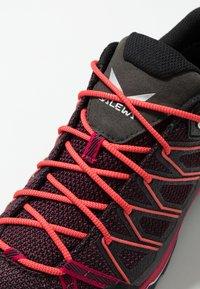 Salewa - MTN TRAINER LITE GTX - Hiking shoes - virtual pink/mystical - 5
