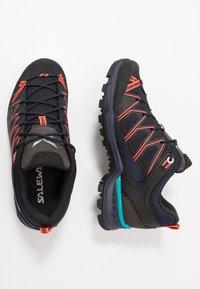 Salewa - MTN TRAINER LITE - Hiking shoes - premium navy/fluo coral - 1