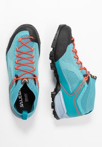 Salewa - ALPENVIOLET - Hiking shoes - canal blue/ocean - 1