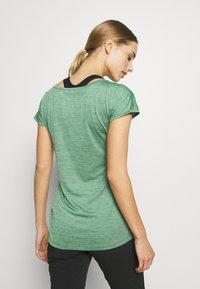 Salewa - PUEZ DRY TEE - T-shirt print - feldspar green melange - 2
