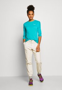 Salewa - PEDROC 2 DRY TEE - Sports shirt - ocean melange - 1