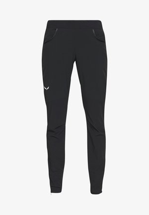 AGNER - Trousers - black out