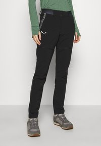 Salewa - PEDROC - Outdoor trousers - black out - 0