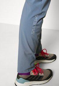 Salewa - PEDROC LIGHT - Outdoor trousers - flint stone - 4