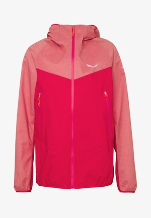 AGNER - Hardshell jacket - virtual pink