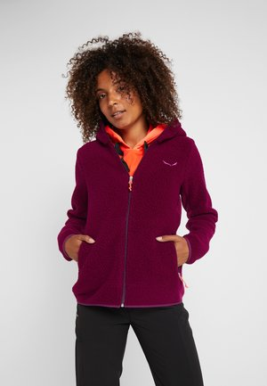 FANES  - Fleece jacket - dark purple melange