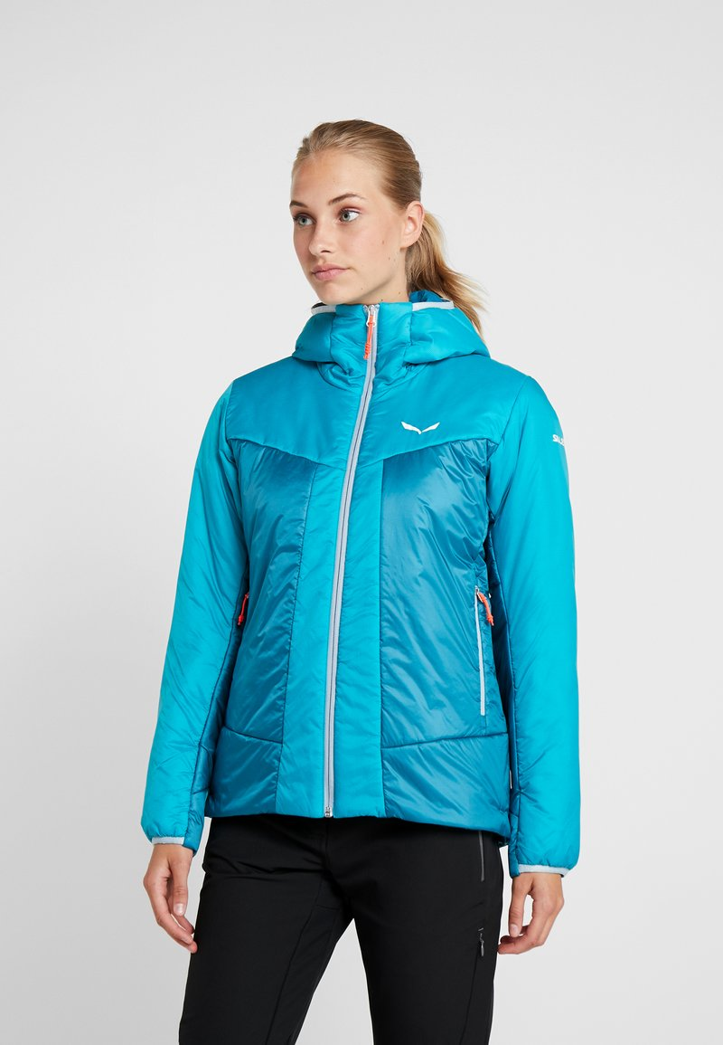 Salewa - HOOD  - Winter jacket - ocean
