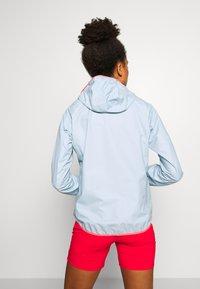 Salewa - PUEZ LIGHT - Hardshell jacket - blue fog - 2