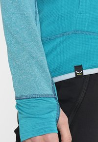 Salewa - PUEZ HYBRID - Fleece jacket - ocean melange - 6