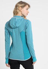 Salewa - PUEZ HYBRID - Fleece jacket - ocean melange - 2