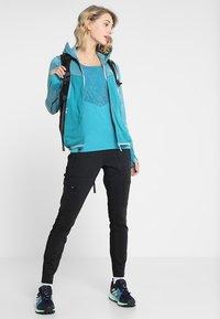 Salewa - PUEZ HYBRID - Fleece jacket - ocean melange - 1