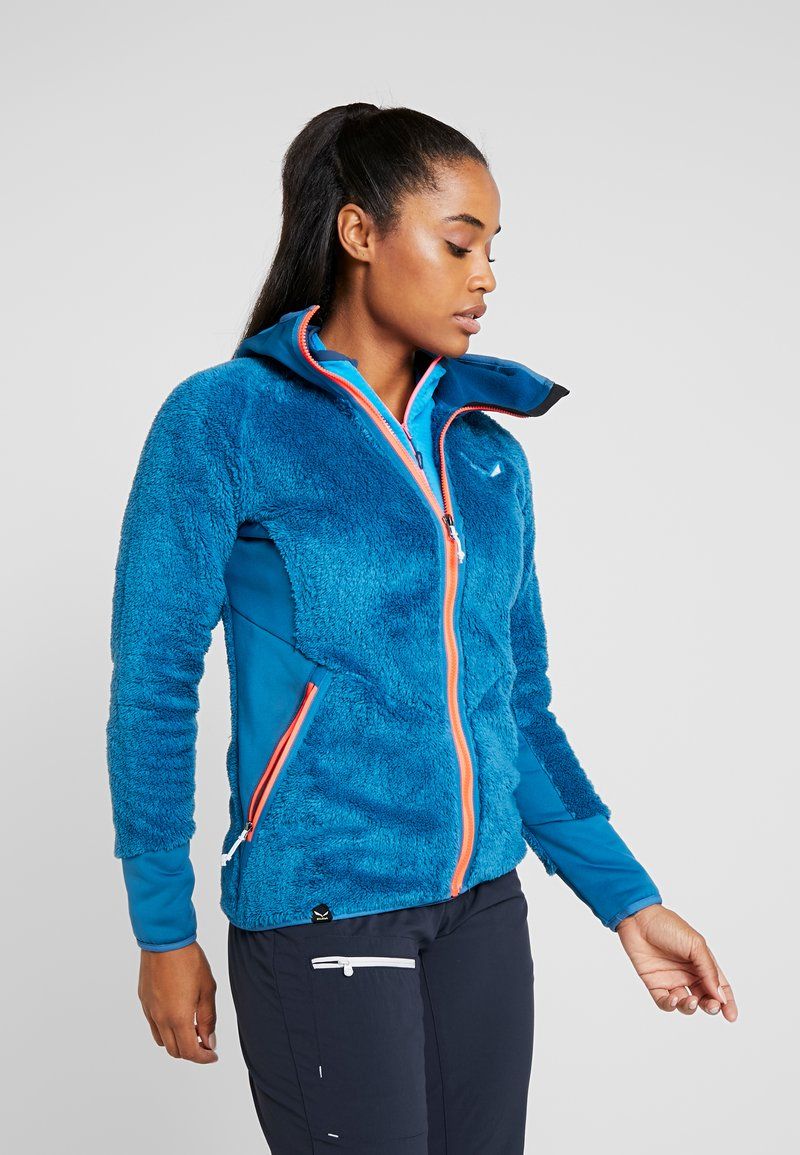 Salewa - PUEZ WARM - Fleece jacket - blue sapphire