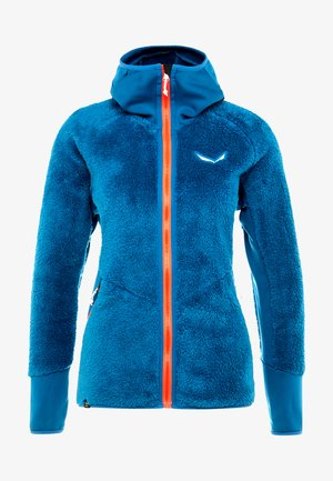 PUEZ WARM - Fleece jacket - blue sapphire