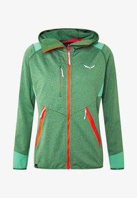 Salewa - AGNER HYBRID  - Fleecová bunda - feldspar green melange - 6