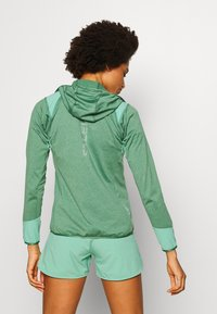 Salewa - AGNER HYBRID  - Fleecová bunda - feldspar green melange - 2