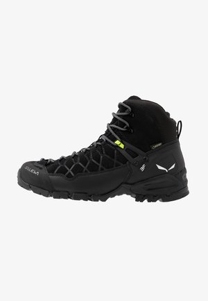 ALP TRAINER MID GTX - Hiking shoes - black