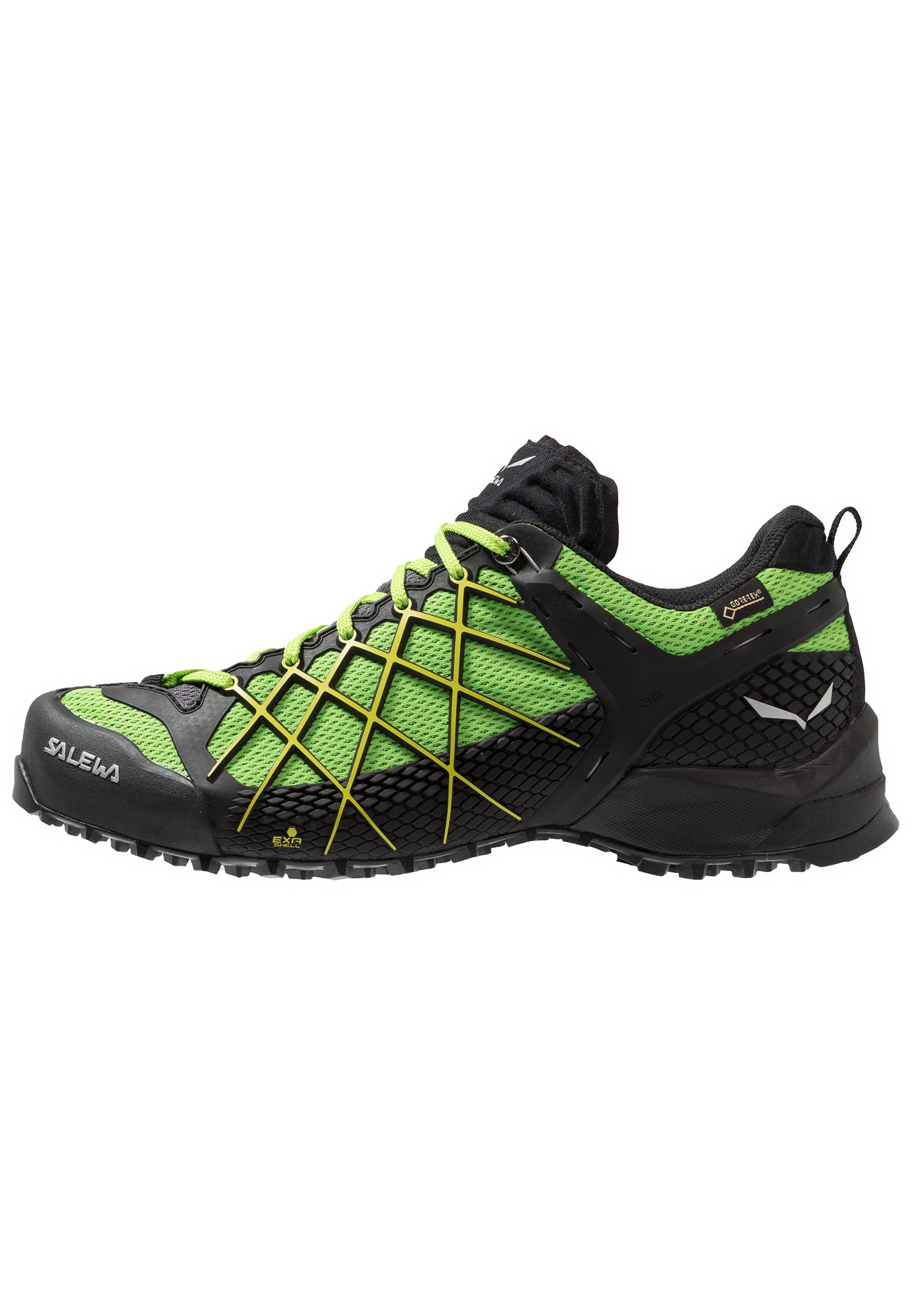 MS WILDFIRE S GTX Hikingskor black outfluo yellow