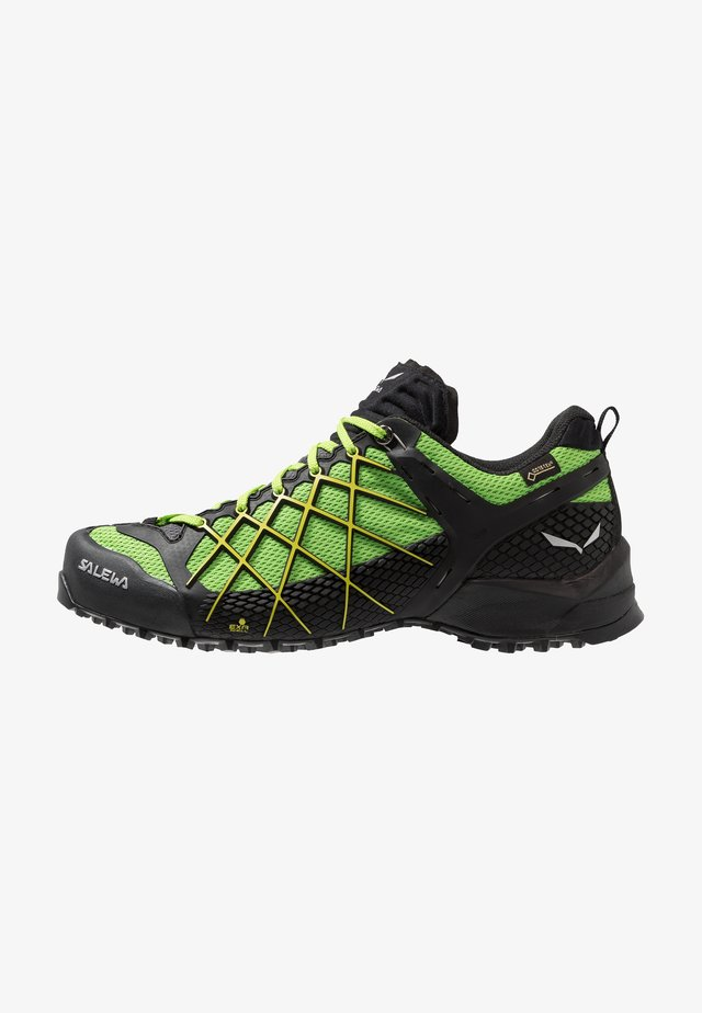 MS WILDFIRE GTX - Hikingschuh - black out/fluo yellow