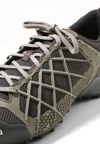 Salewa - MS WILDFIRE - Climbing shoes - black/olive/silberia - 5