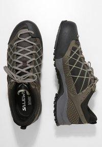 Salewa - MS WILDFIRE - Climbing shoes - black/olive/silberia - 1