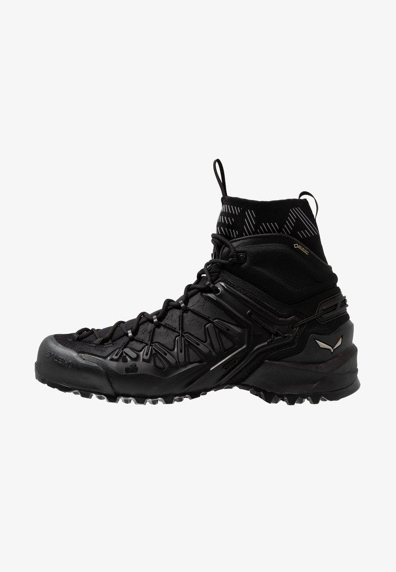 Salewa - WILDFIRE EDGE MID GTX - Hiking shoes - black
