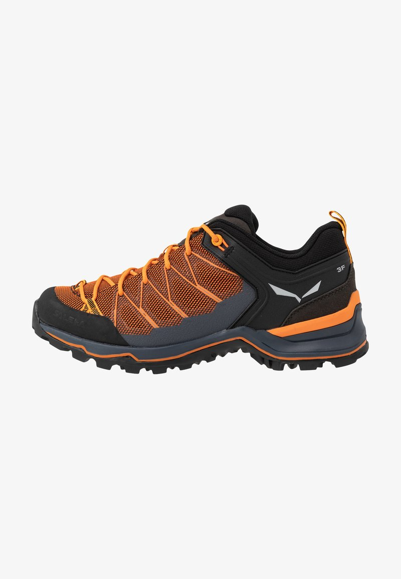 Salewa - MTN TRAINER LITE - Hiking shoes - ombre blue/carrot