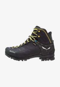 Salewa - RAPACE GTX - Obuwie górskie - night black/kamille - 0