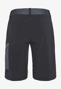 Salewa - PEDROC CARGO SHORTS - Shorts - black out - 1
