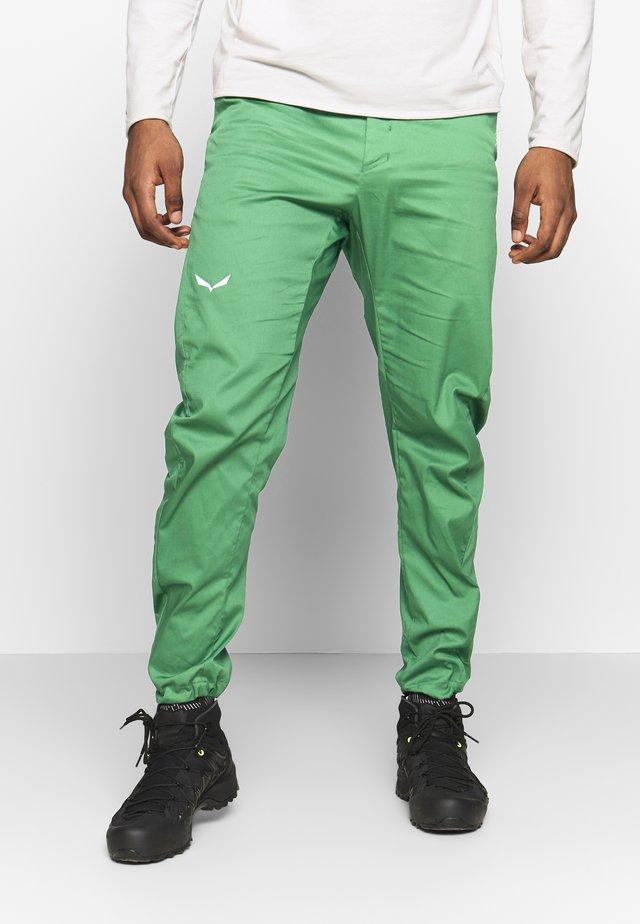 AGNER - Spodnie materiałowe - myrtle