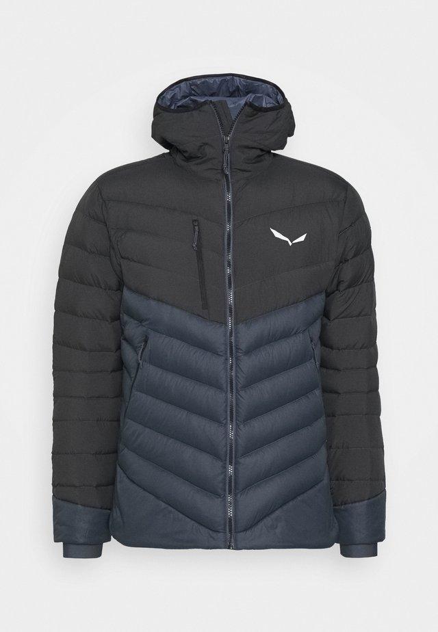 ORTLES MEDIUM - Down jacket - black out